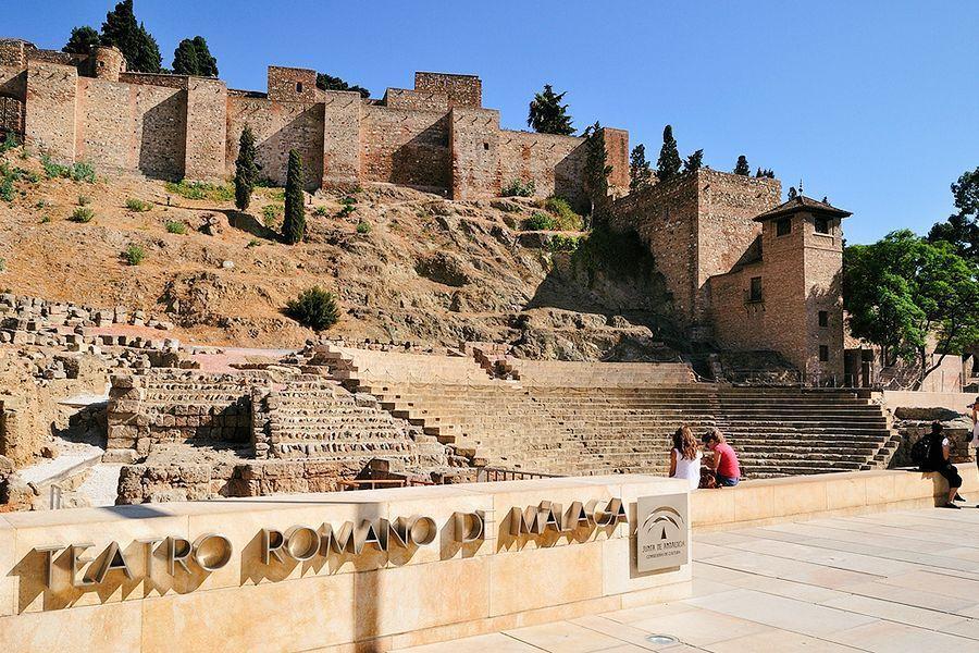 Official Tour Guide in Ronda, Málaga, Marbella - Malaga Roman theatre and Alcazaba